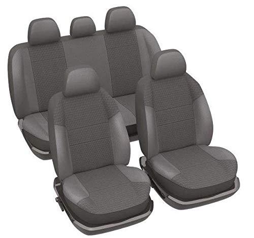 DBS 1012675 Fundas de asientos de Coche / Pick Up - A medida - Rápida instalación - Compatible Airbag - Isofix