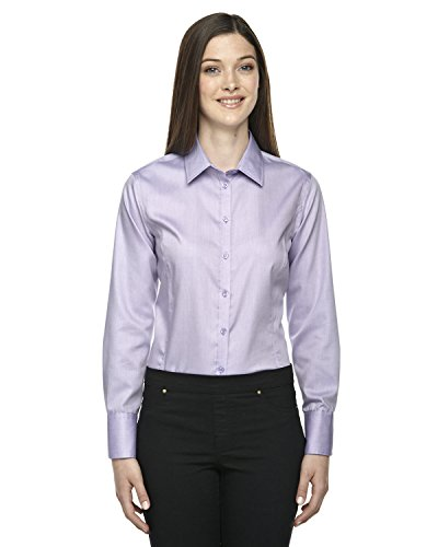 Ash City - North End Sport Blue North End Ladies Wrinkle-Free Spread Dobby Shirt, Orchid Prpl 459, -