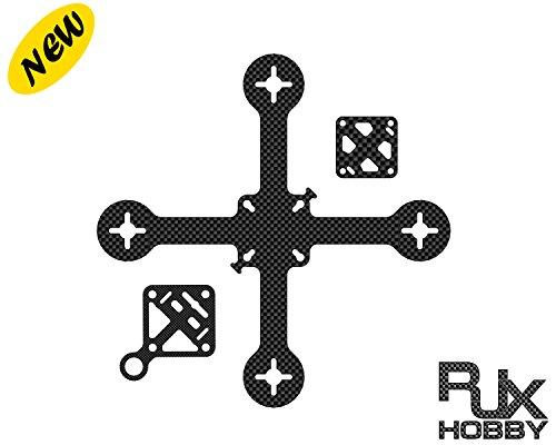 RJXHOBBY 110mm Micro Carbon Fiber Quadcopter Frame Kit for Mini FPV Racing Drone Support 1103 1104 1306 Brushless Motors…