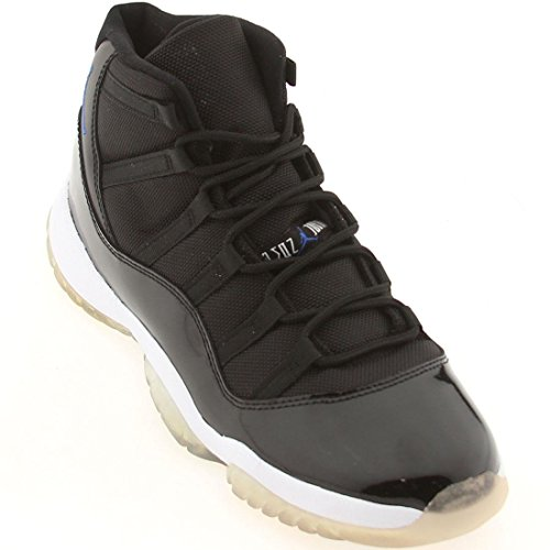 Air Jordan 11 Xi Retro - Ruimte Jam Zwart, Varsity Royal-wit