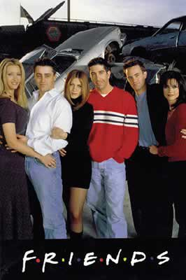 Click for larger image of Friends - Poster: Junk Yard (Size: 27'' x 40'') (By POSTER STOP ONLINE)