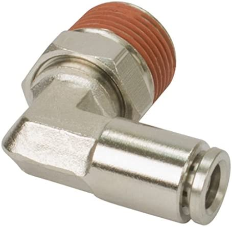 DOT Approved to 1//8 Airline 90 Degree Swivel Elbow Fitting VIAIR 11848 1//4 NPT 4 Pack M