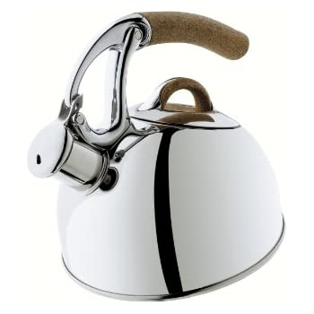 OXO 1473502 Good Grips Anniversary Edition Uplift Tea Kettle, 8-Cup, Polished Stainless Steel