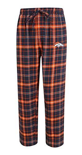 Concepts Sport Denver Broncos NFL Ultimate Goal Men's Flannel Pajama Pants