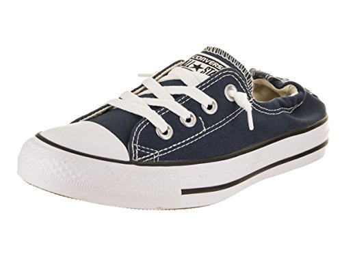 Pictures of Converse Women's Shoreline Slip on Sneaker 537080F Athletic Navy 1