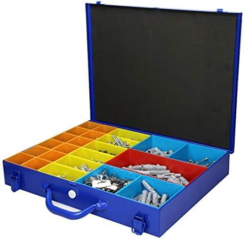petites pièces valise 20 fois! 1 pcs Sortierkasten Assortiment Boîte métal valise