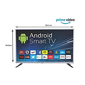 eAirtec 125 cm (50 Inches) Full HD Smart LED TV 50ATSM (Grey) (2020 Model)