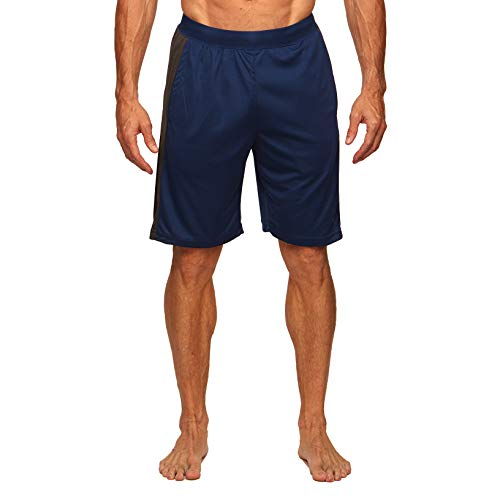 Colosseum Mens Performance Workout Shorts Estate Blue - M from Colosseum