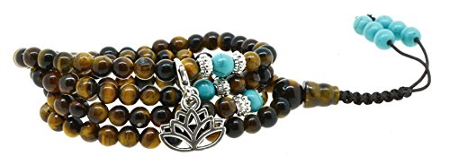 Meditation Simulated Prayer Bracelet Necklace