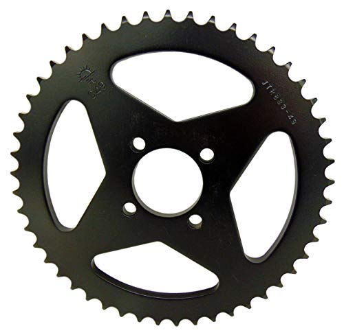 - JT Carbon Steel Rear Sprocket 49T Yamaha 2000 2001 00 01 TTR 125 TTR125 DT50