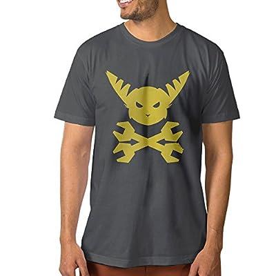 DETED Jersey T-Shirt - Ratchet & Clank Head For Men's DeepHeather