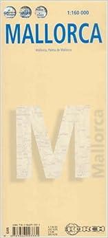 """""TOP"""" Mallorca Laminated Travel Map By Borch (English Edition). Viaja puntos Money Producto SPONSORS KAYAK country frances"