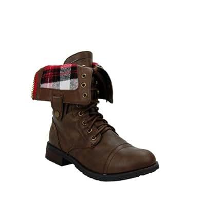 Sweet Beauty Women Terra-01 Boots,Dark Taupe,5.5