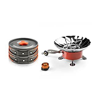Amazon.com : Windproof Camping Stove and Cooking Equipment