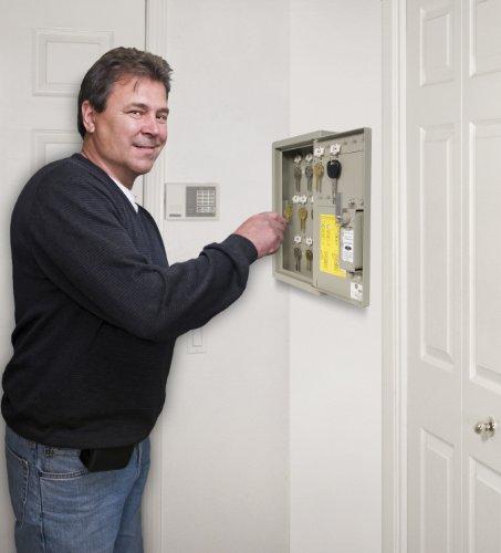 090928017952 - Kidde AccessPoint 001795 Combination TouchPoint Entry Key Locker, Clay, 30 Key carousel main 2
