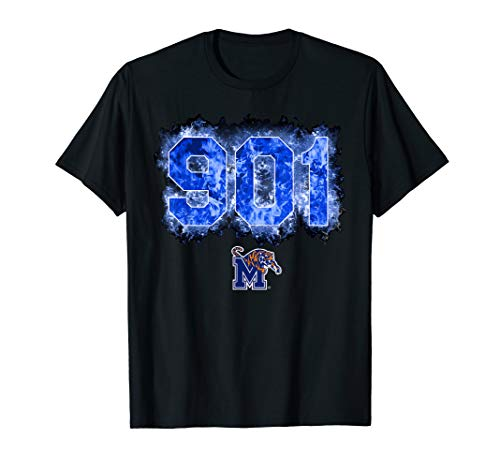 Memphis Tigers Fire Area Code T-Shirt - Apparel