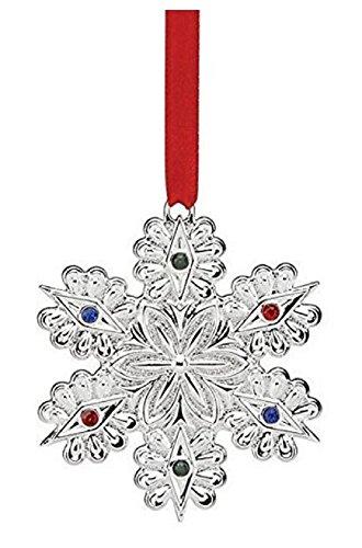 - Lenox Jeweled Snowflake Ornament