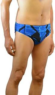 Adoretex Mens Boys Printed Swim Racer Briefs Shorts Swimsuit (MR005)