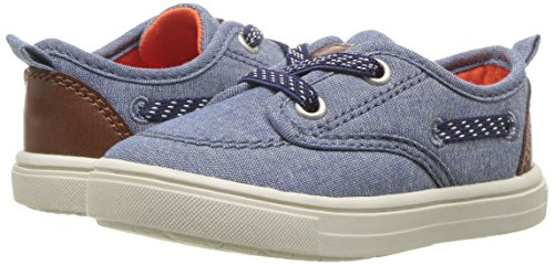 Pictures of Carter's Blaze Boy's Casual Boat Shoe, Navy, 5 M US Toddler 4