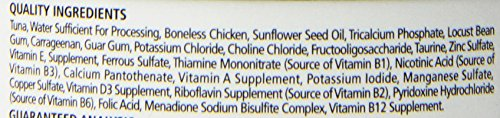 Fussie Cat Premium Tuna with Chicken Canned Cat Food - 24 - 2.82-oz. Cans
