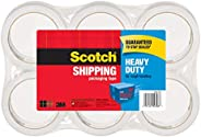 """Scotch Heavy Duty Packaging Tape, 1.88"""" x 54.6 yd, Designed for Packing, Shipping and Mailing, Strong Sea"""