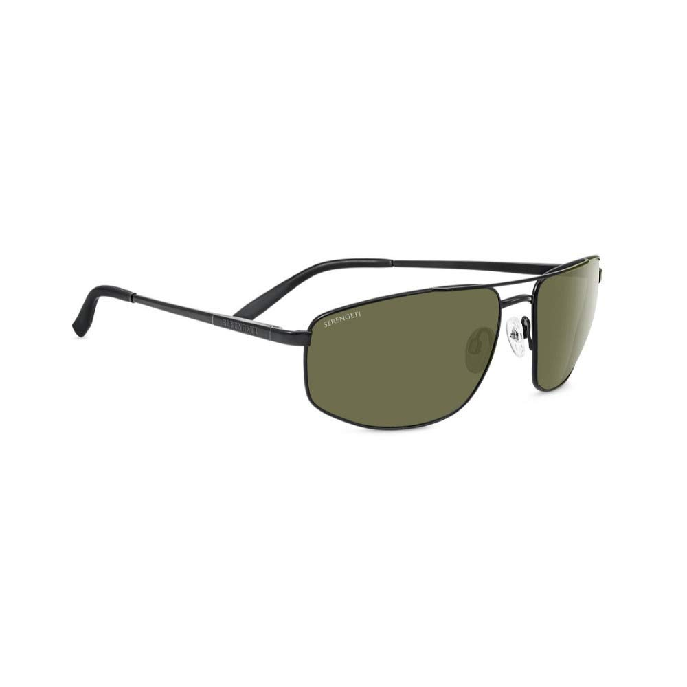 Serengeti Modugno Polarized Sunglasses, Satin Black by Serengeti