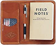 Personalized Leather Field Notes Wallet, Field Notes Cover, Moleskine Cover, Passport Wallet, Handmade in Ariz
