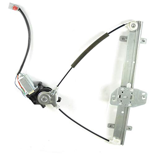 FUYU New Aftermarket 1pc Front Driver FL LH Side Window Regulator w/Motor Fit 01 02 03 04 05 Hond Civic 72250S5PA03