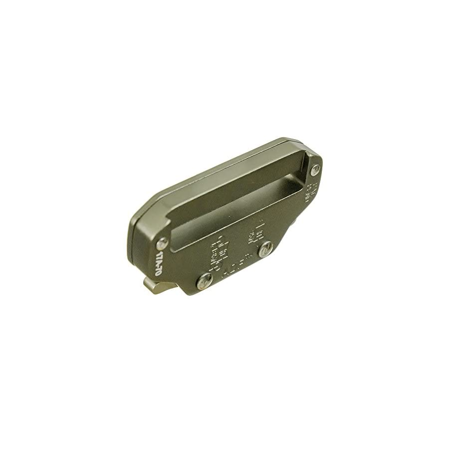"""Raptor II 2"""" Tactical Military Police Aluminum Quick Release Trouser Shooter Rigger Hunting Sports Belt Buckle Foliage Green"""