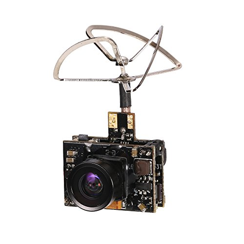 GoolRC 800TV FPV Camera 5.8G 40CH 25/100/200mW Transmitter Clover Antenna for Inductrix QX90 H36 T36 NH-010 Micro Racing Drone by GoolRC