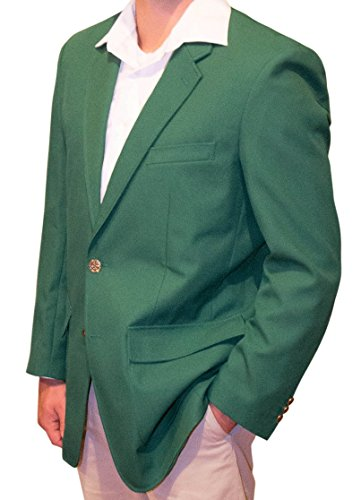 Trophy Club Green Blazer Jacket by ReadyGOLF - Size 42 Reg