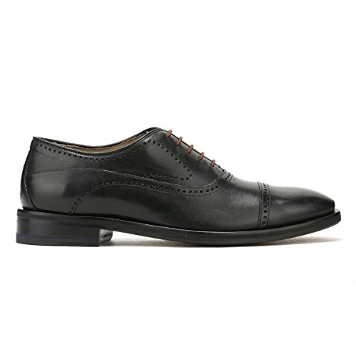 OLIVER SWEENEY Uomo Leather Mallory Oxford Shoes Nero Nero