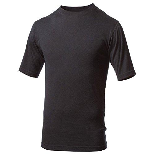 UPC 891085001743, Minus33 Merino Wool Men's Algonquin Lightweight Short Sleeve Crew, Black, Large
