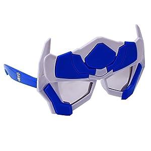 Sunstaches Transformers Optimus Sunglasses, Party Favors, UV400
