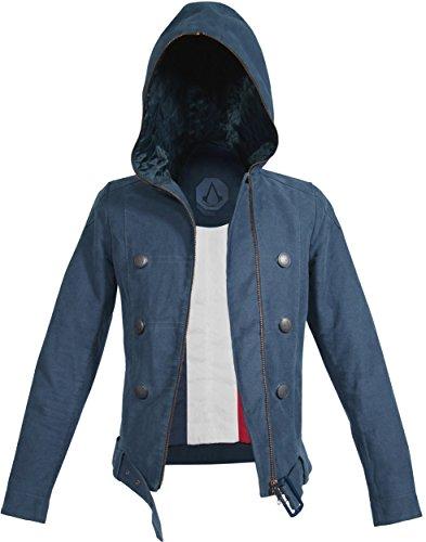 Musterbrand Assassin's Creed Women Jacket La Liberté Blue XL