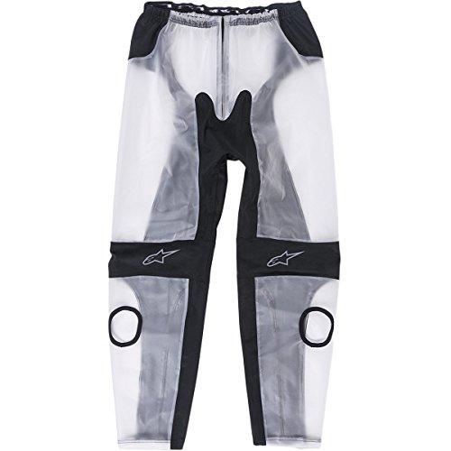 Alpinestars Race Rain Men's Street Pants - Black/Clear / X-Large