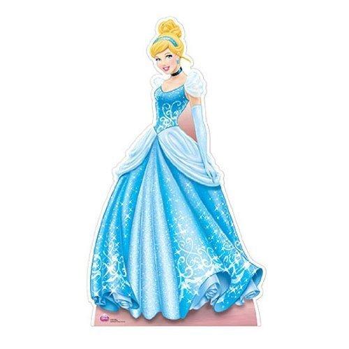Disney Princess Cinderella 172cm Lifesize Cardboard Cutout by partyman by partyman
