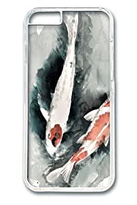iPhone 6 Case and Cover -Pond Koi PC Hard Plastic Case for iphone 6 4.7 inch Transparent