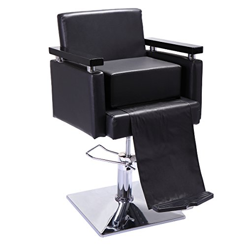 Review JAXPETY Black Barber Beauty Salon Spa Equipment Styling Chair Child Booster Seat Cushion