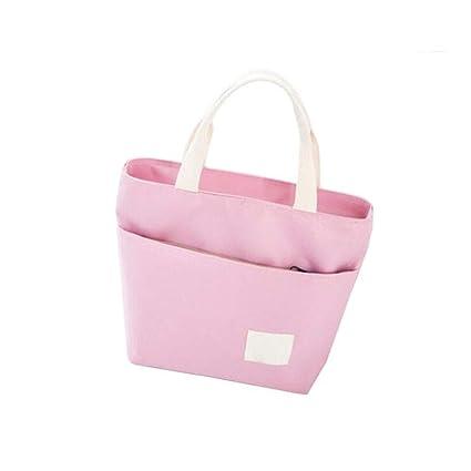 da2e0e3811d1 Guyuexuan Lunch Box Bag, Lunch Bag, Handbag, Oxford Cloth Large ...
