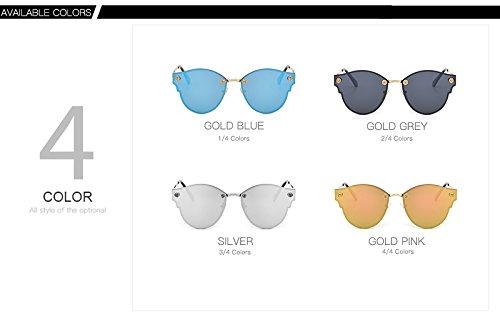 Silver UV Gafas Sol de XZP de protección Hombre para Gafas Moda polarizadas de Sunglasse qwpxwOY