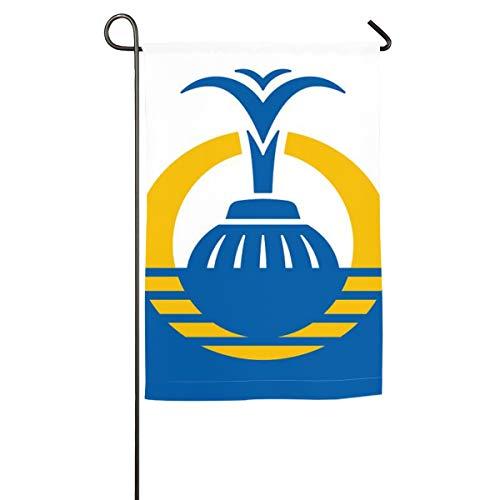 LNC 01P Flag City of Orlando Garden Flag - Outdoor Yard Flag - Decorative Colorful Welcome Garden Flag - Single Side Printing 12