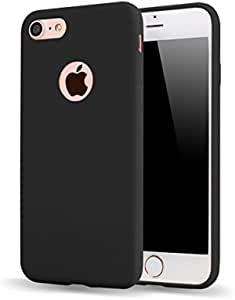 iPhone7plus candy-colored Phone Case,black