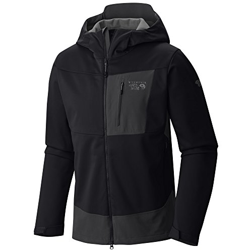 Mountain Hardwear Dragon Hooded Jacket - Men's Black Medium