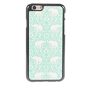 YULIN Elephant Design Aluminium Hard Case for iPhone 6 Plus