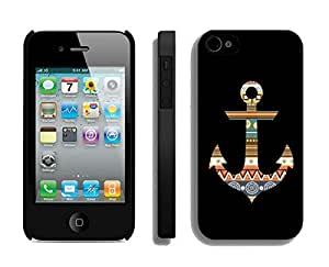 Aztec Anchor Iphone 4 4s Case Black Cover