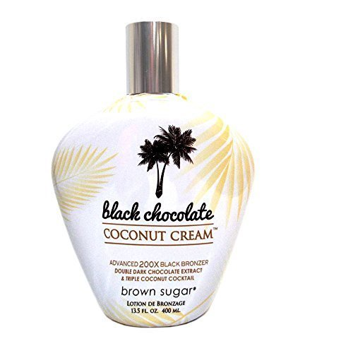 Brown Sugar BLACK CHOCOLATE COCONUT CREAM 200X Bronzer - 13.5 oz.