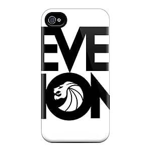 Iphone 4/4s VRn16045Gbnu Customized Lifelike Avenged Sevenfold Pattern Shock-Absorbing Hard Phone Case -CharlesPoirier