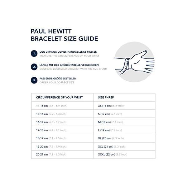Paul Hewitt Bracciale Uomo con Ancora PHREP - Bracciale Uomo Ancora in Pelle (Nero), Bracciale Uomo Marinaro con… 3