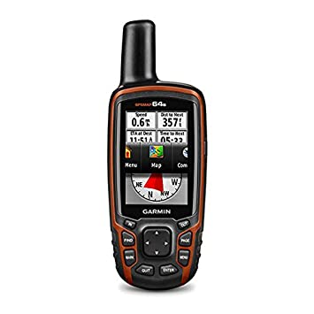 Garmin GPSMAP 64s Worldwide with High-Sensitivity GPS and GLONASS Receiver 010-01199-10